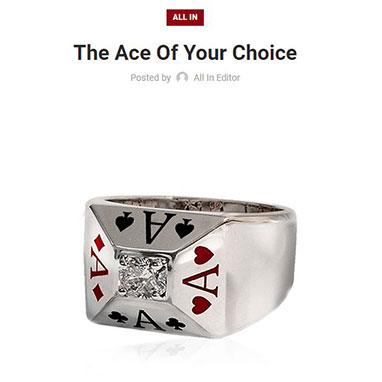 Poker Jewelry
